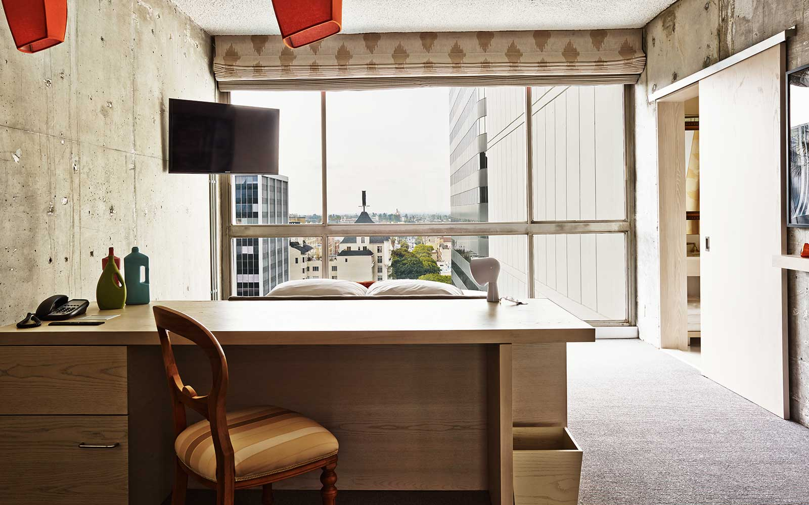 The Line Hotel - Room / Knibb Design (12)