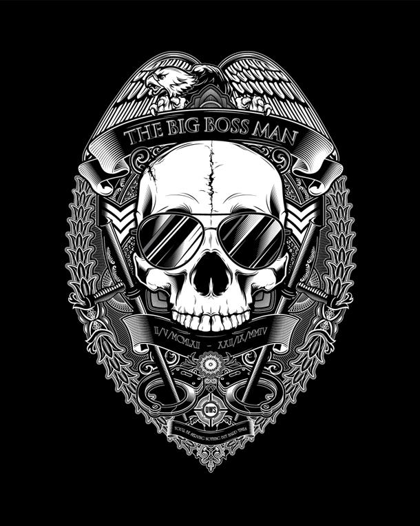 the dead wrestler society / I love dust 7