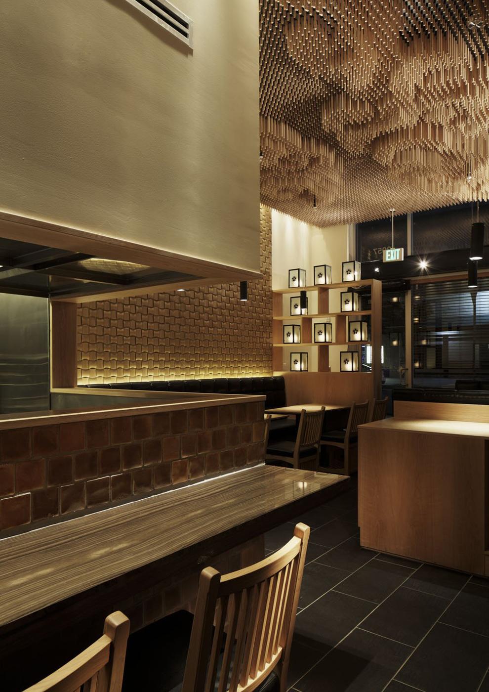 design d'espace, design d'intérieur, restaurant, architecture d'intérieur