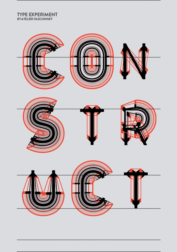 Type Construct / Atelier Olschinsky