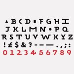 Typeface for Wired / Sawdust
