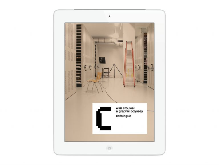 Wim Crouwel : A Graphic Odyssey – Catalogue Digital iPad / Spin