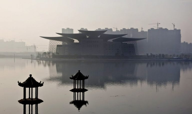 Grand Théâtre de Wuxi / PES Architects
