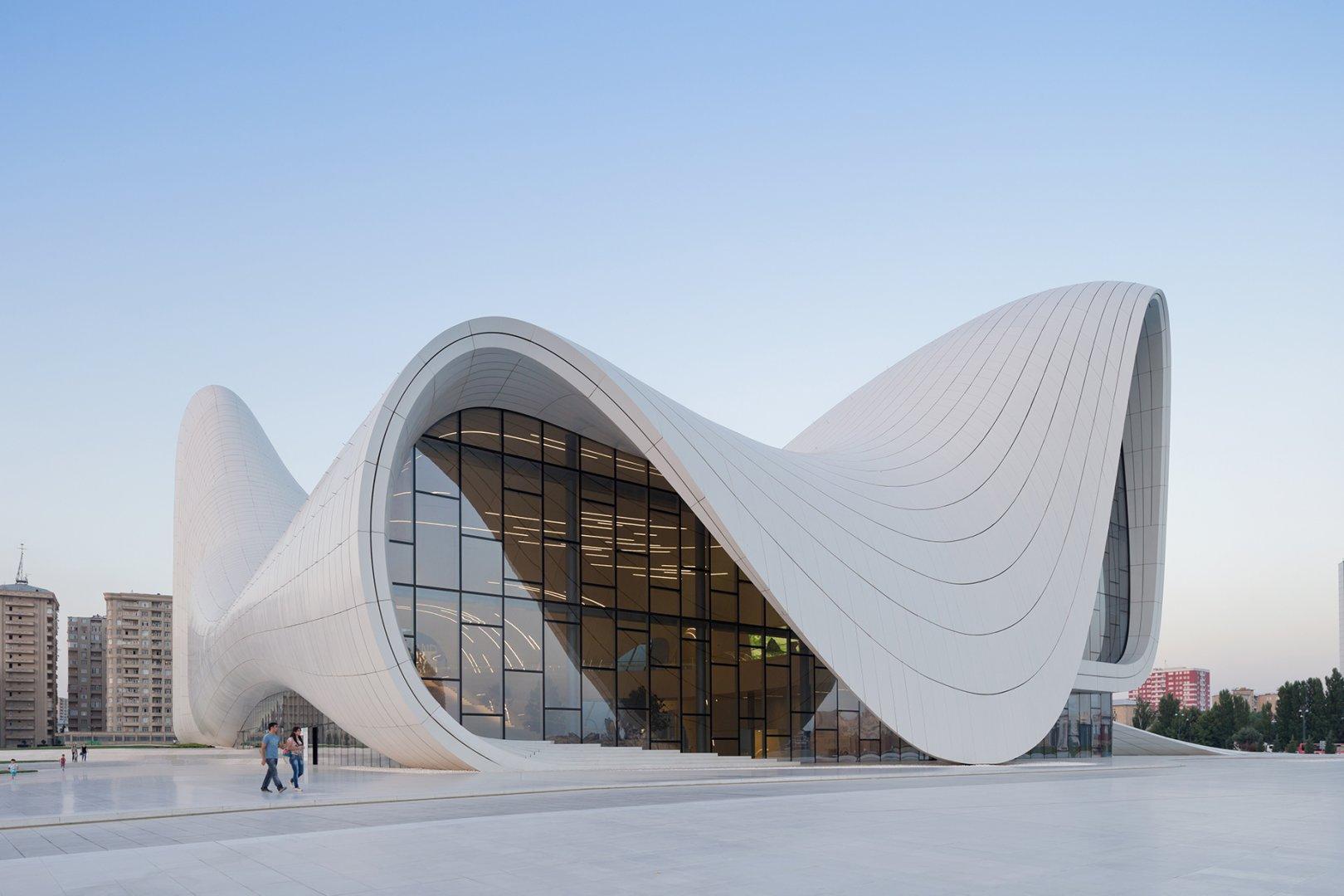architecture zaha hadid centre heydar aliyev